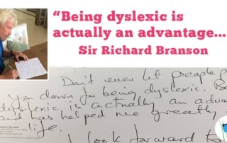 Richard Branson's Advice to Dyslexics