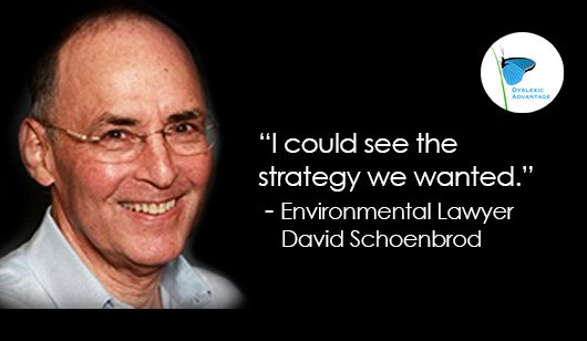 Dyslexia | Environmental Law Pioneer David Schoenbrod