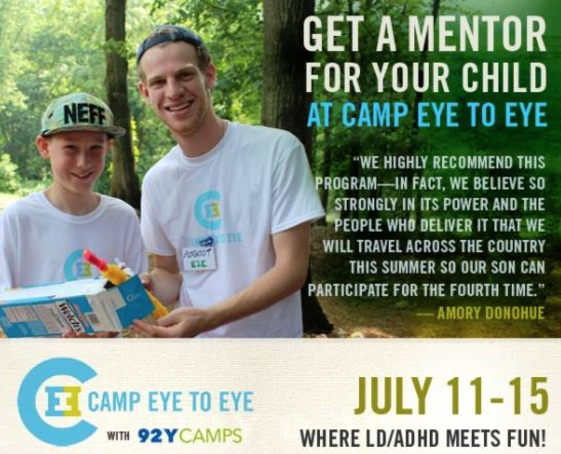 Eye to Eye Summer Camp in New York – Dyslexia LD ADHD