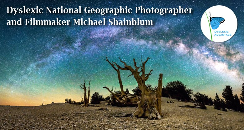 Dyslexic National Geographic Photographer Michael Shainblum