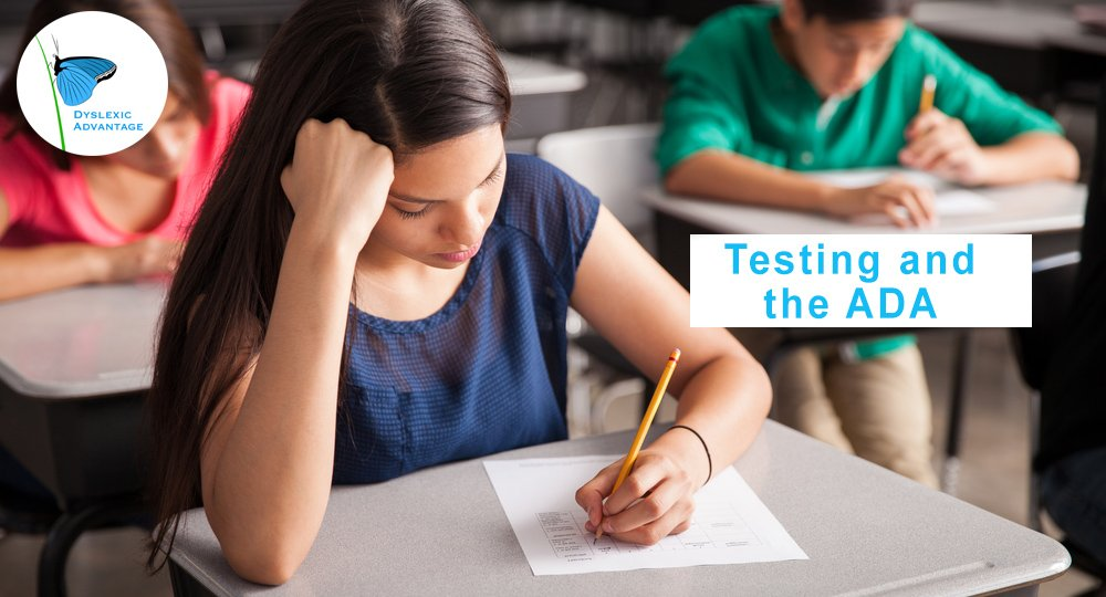 Accommodating Students With Dyslexia >> Test Accommodations For Students With Dyslexia Under The Ada Doj