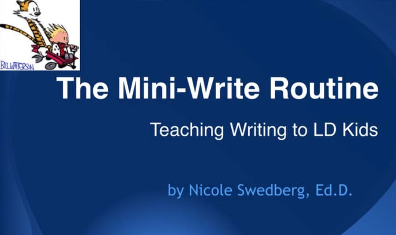 Unleash Dyslexic Writing with Dr. Nicole Swedberg [Premium]