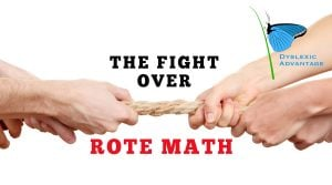 fight-rote-math-dyslexia - our shutter stock