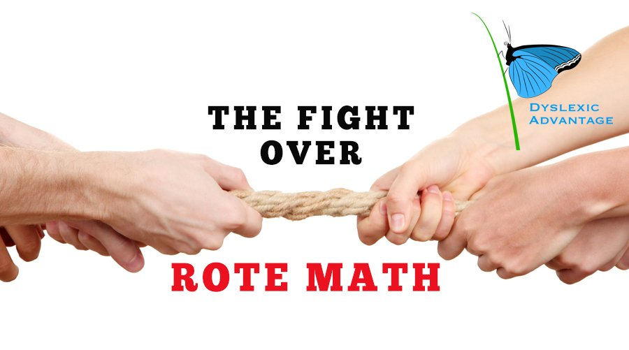 The Fight over Rote Math