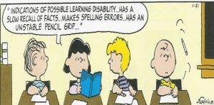 peanuts-dyslexia