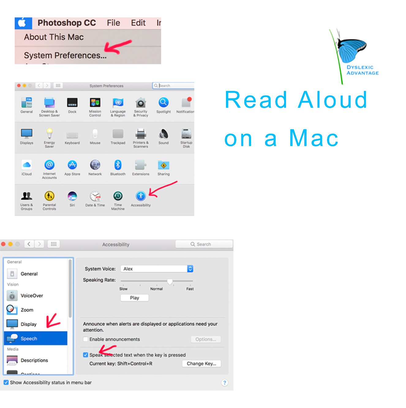 How to Activate Read Aloud on Your Mac (Text-to-Speech) - Links Also