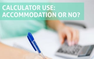 Dyslexic Advantage: Calculator Use Accommodation or Not?