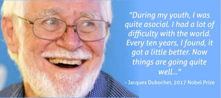 Jacques Dubochet, 2017 Nobel Prize