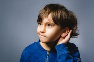 SCREEN CHILDREN with READING PROBLEMS FOR HEARING DIFFICULTIES