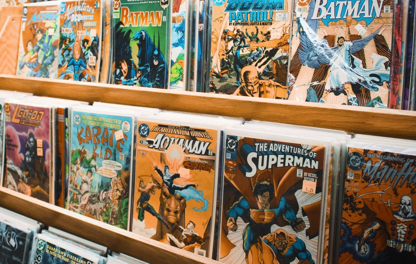 COMICS AND DYSLEXIA:  A Curious Connection…