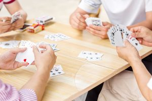 Card Game math Dyslexic Advantage