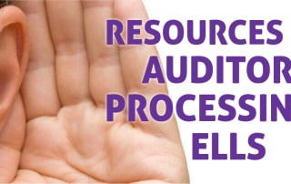 resources for auditory processing and ells