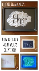 trick words sight words
