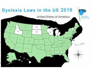 Dyslexia Laws In Usa Update >> Dyslexia Laws 2019 Dyslexia Dyslexic Advantage