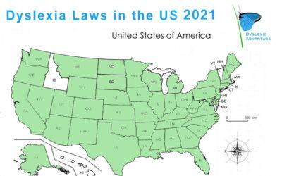Dyslexia Laws 2021