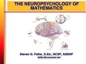 dyscalculia, dyslexia, neuropsychology
