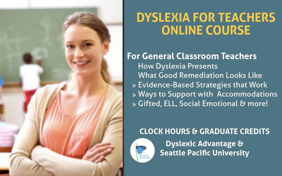 Dyslexia for Teachers