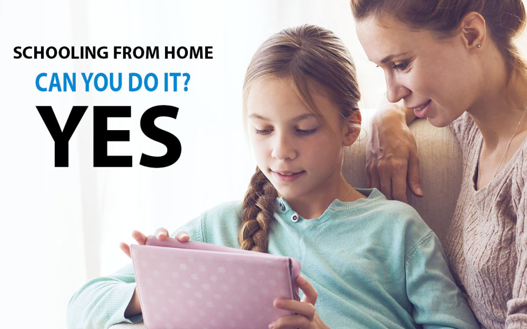 Schooling From Home, Can You Do It?